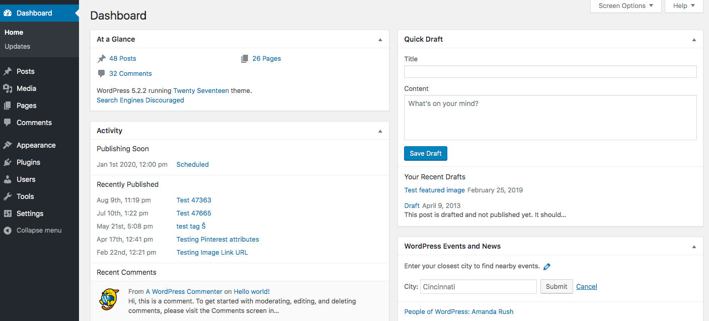 how to decorate a wordpress blog